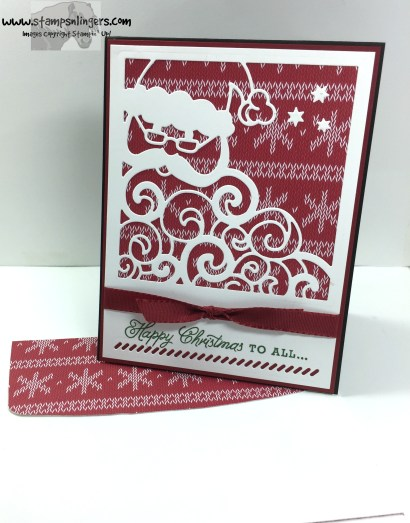 Greetings From Detailed Santa 7 - Stamps-N-Lingers
