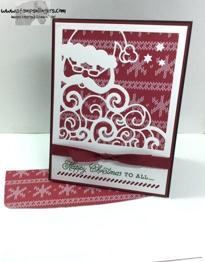 stampin' up sneak peek  greetings from detailed santa