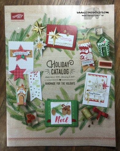Holiday Catalog Cover - Stamps-N-Lingers