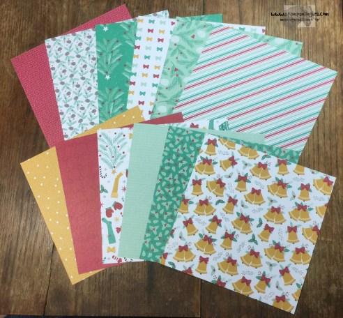 Presents & Pinecones DSP - Stamps-N-Lingers