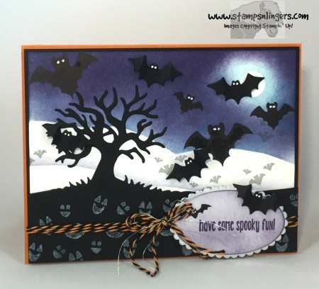 Spooky Batty Halloween Fun 1 - Stamps-N-Lingers