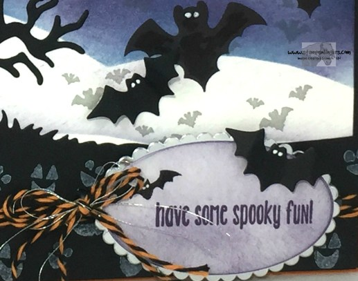 Spooky Batty Halloween Fun 8 - Stamps-N-Lingers