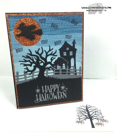 Spooky Fun Halloween Treat 6 - Stamps-N-Lingers