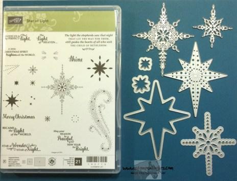 Star of Light Bundle - Stamps-N-Lingers
