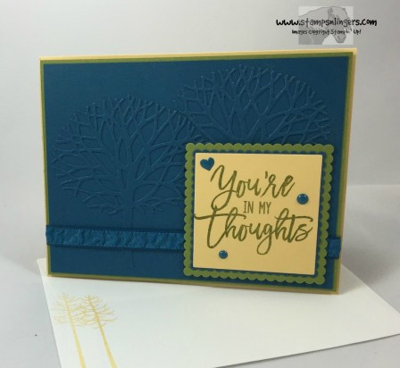 Thoughtful Branches Embossed Panel 7 - Stamps-N-Lingers