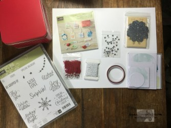 Tin of Tags set and Project Kit - Stamps-N-Lingers