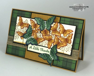 Totally Trees Butterfly Thanks 3 - Stamps-N-Lingers