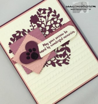 Better Together Bloomin' Heart Sympathy 4 - Stamps-N-Lingers