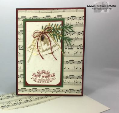 Seasonal Bells Christmas Wedding 7 - Stamps-N-Lingers