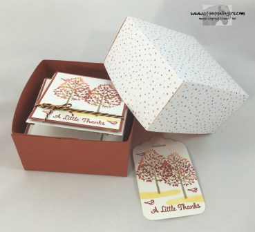 Totally Trees Note Card Box 1 - Stamps-N-Lingers