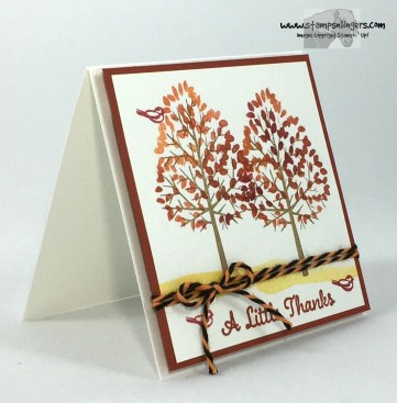 Totally Trees Thank You Notes 2 - Stamps-N-Lingers