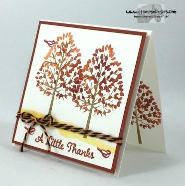 Totally Trees Thank You Notes 3 - Stamps-N-Lingers