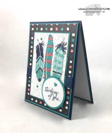Just Add Color Feather Together - Stamps-N-Lingers 3