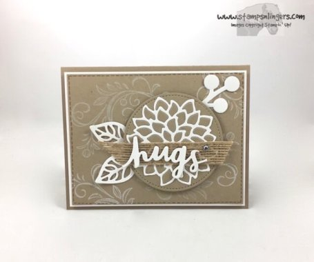 Lovely Words and Mayflowers - Stamps-N-Lingers 1
