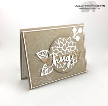 Lovely Words and Mayflowers - Stamps-N-Lingers 2