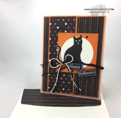 Seasonal Spooky Cat Punch Halloween - Stamps-N-Lingers 7