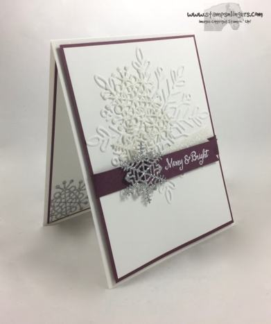 Seasonal, Swirly Sparkly Snowflakes - Stamps-N-Lingers 2