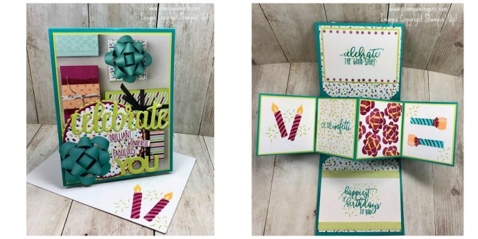 Picture Perfect Twist and Pop-up Card Collage