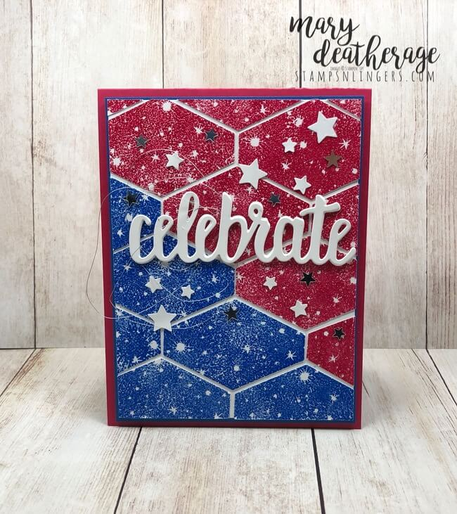 Stampin' Up! Celebrate a Bokeh Fourth! | Stamps - n - Lingers
