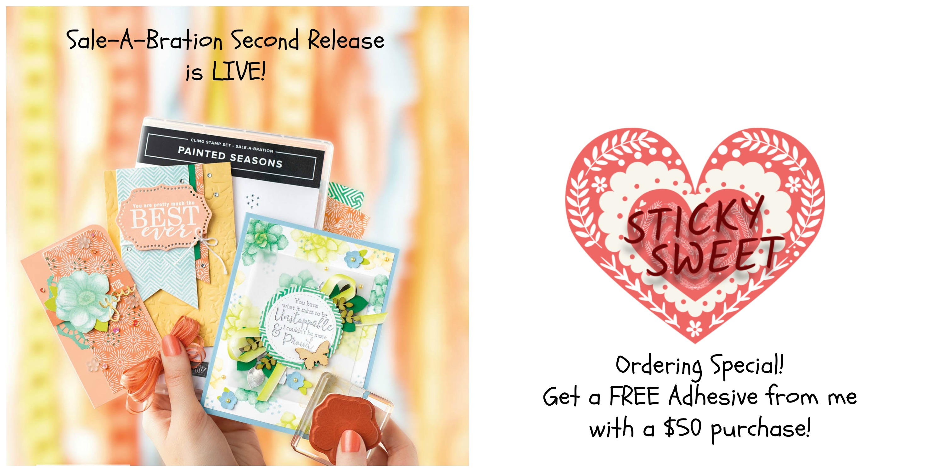 2019 Sale-A-Bration Second Release | Stamps – n - Lingers