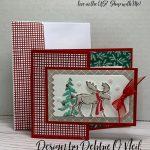 Christmas Gift card Money Holder