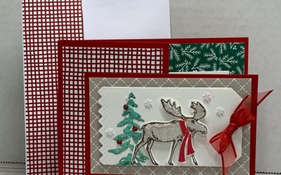 Christmas Gift Card/money Holder featuring Stampin' Up!
