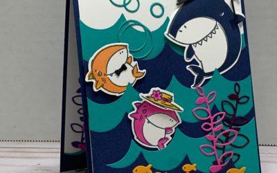 Shark Frenzy – Doo Doo Doo Doo….. Stampin' Up!