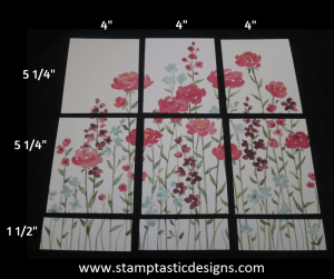 Painted Blooms Measurements 2