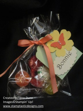 flowery treat bags