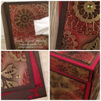 Tissue Box Gift Set & Card SP