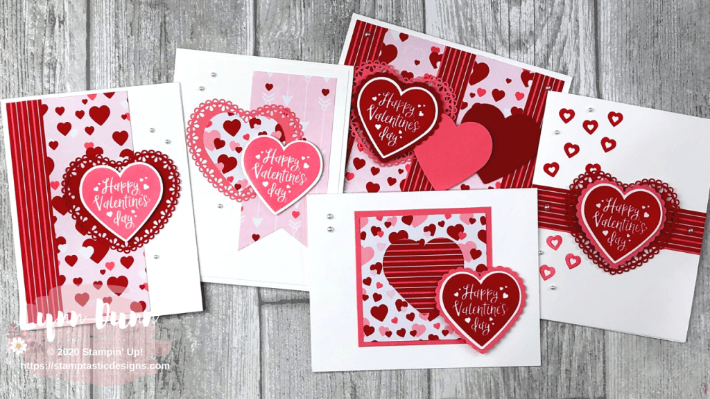 5 cute and easy cards to make for valentine's day  lynn dunn