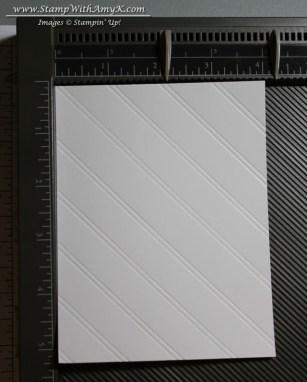 Diagonal Plate Scoring