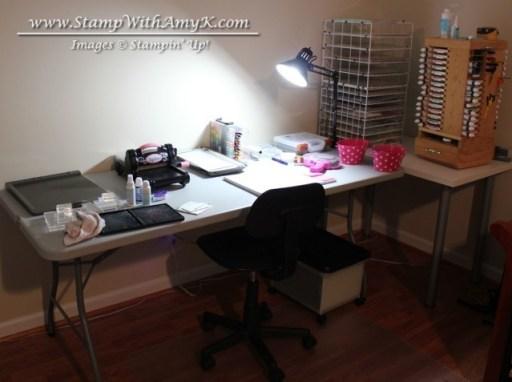Stamp Room Work Area