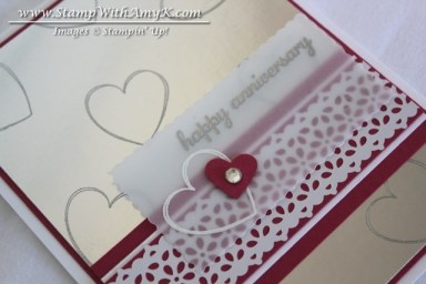 Hearts a Flutter 2 - Stamp With Amy K
