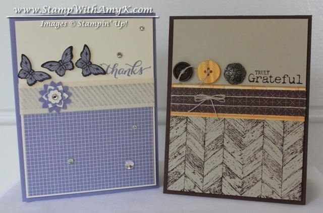 Thank You Cards - Stamp With Amy K
