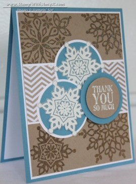 Festive Flurry 1 - Stamp With Amy K