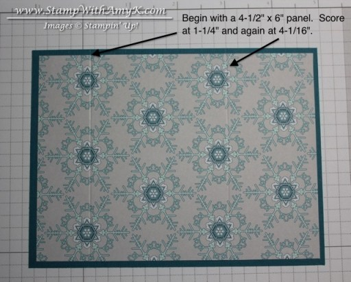 Gift Card Envelope Tutorial - Stamp With Amy K