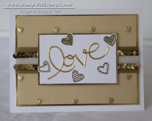 Language of Love - Stamp With Amy K