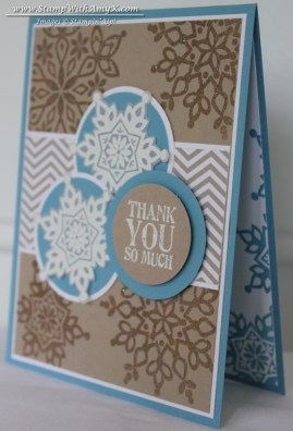 Lots of Thanks - Stamp With Amy K