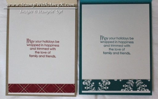 More Merry Messages - Stamp With Amy K