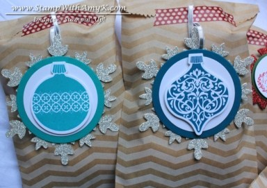 Ornament Keepsakes - Stamp With Amy K