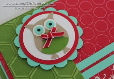 Owl Builder Punch - Stamp With Amy K