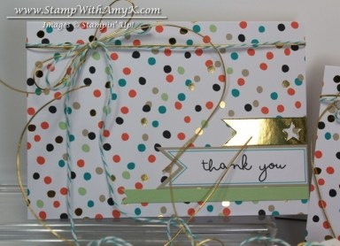 Good As Gold Card Kit 2 - Stamp With Amy K