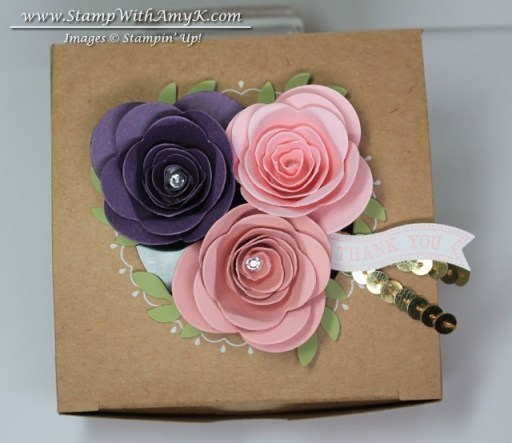 Spiral Flower Die - Stamp With Amy K