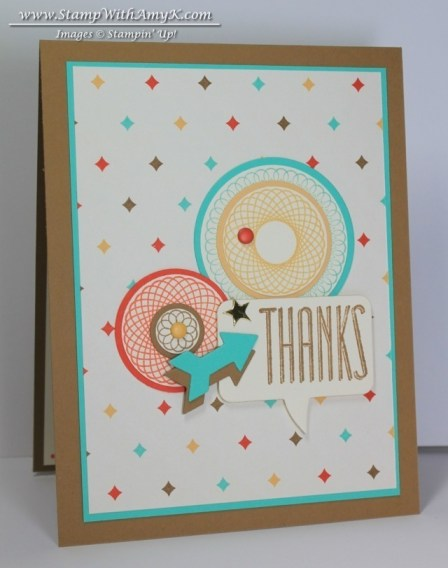 Spiral Spins 1 - Stamp With Amy K