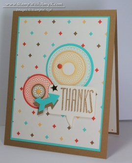 Spiral Spins 2 - Stamp With Amy K