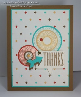 Spiral Spins - Stamp With Amy K