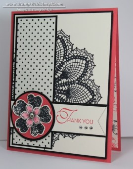 Hello Doily - Stamp With Amy K