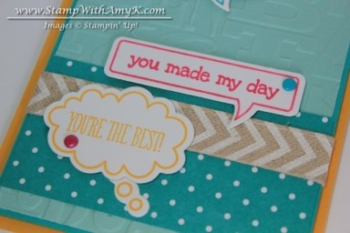 Just Sayin' 3 - Stamp With Amy K