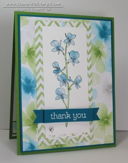 Happy Watercolor 1 - Stamp With Amy K